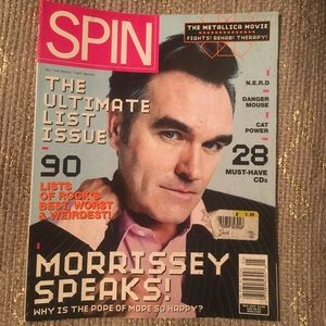 Morrissey Spin Magazine
